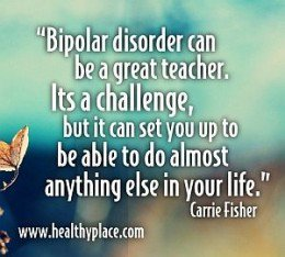 Bipolar Disorder: Fears and Living with a Chronic Illness