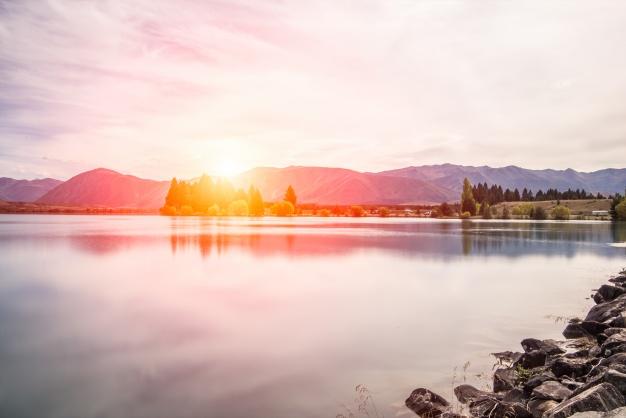 sunsetlake1